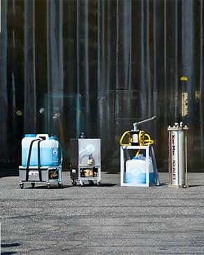 水圧パワーユニットの写真